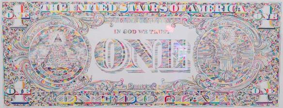 Tom Friedman, 'Untitled (dollar print, back),' 2011