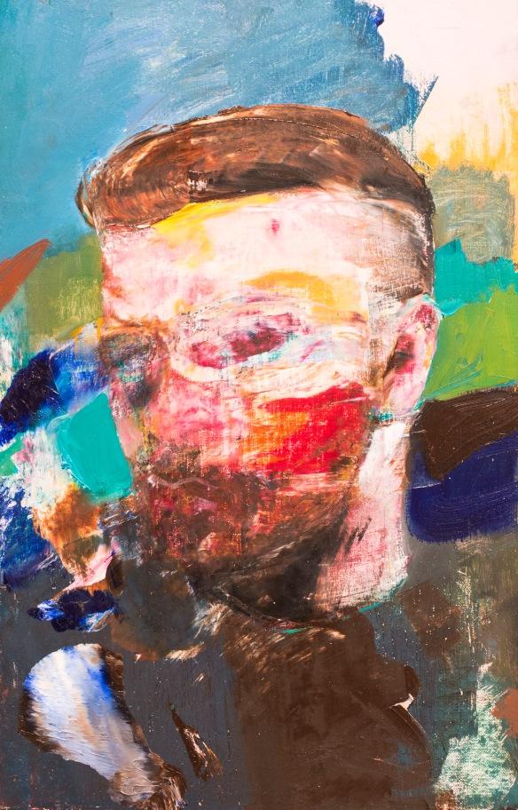 Adrian Ghenie, 'Selfportrait,' 2014