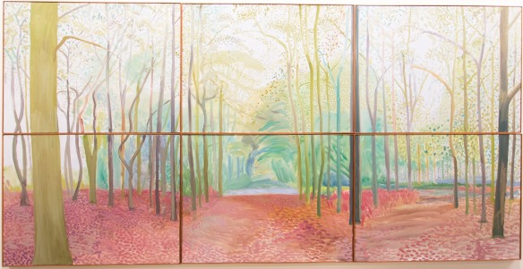 David Hockney, 'Woldgate Woods,' 2006