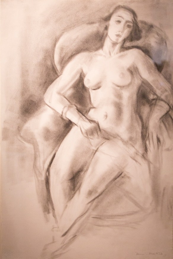 Henri Matisse, 'Femme nue assise,' 1923