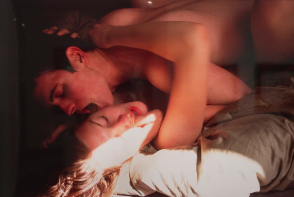Nan Goldin, 'Simon and Jessica Making Love, finger in mouth,' 2001