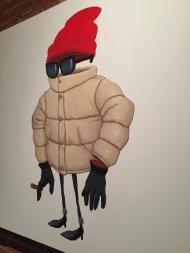 Vladimir Kato - Invisible Mayne - Acrylic on Canvas - 4x4